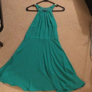 Green dress from Express